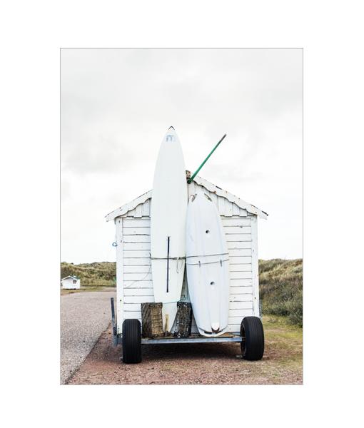 surfhuisje fotografie poster