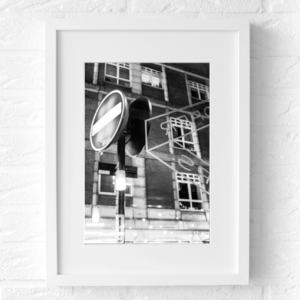 londen fotografie zwart wit poster