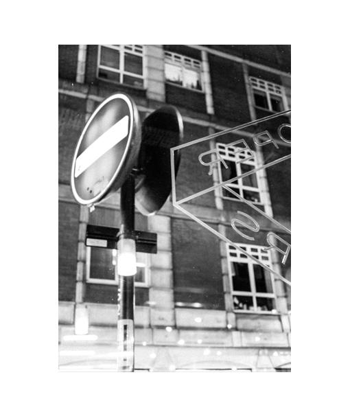 londen poster zwart wit