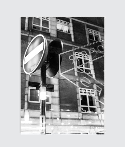 londen fotografie poster zwart wit