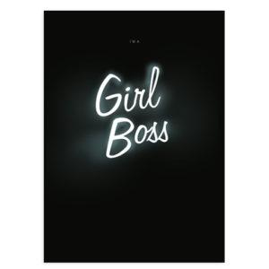 girlboss-poster-zwart-wit
