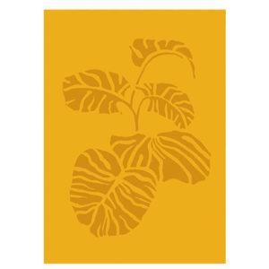 vingerplant-botanische-poster-monsteraposter