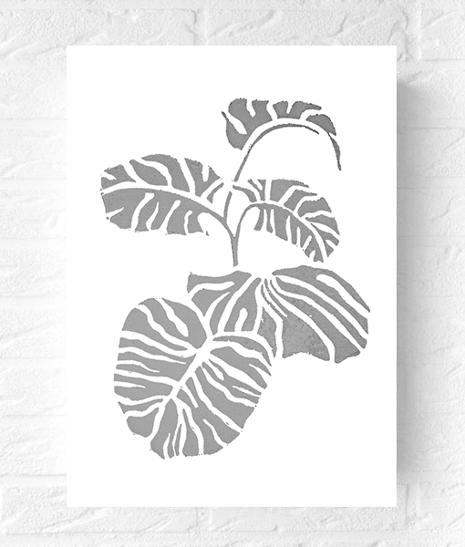vingerplant-botanischetrend-interieurtrend-botanisch-poster-vtwonen-trends2016
