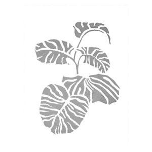 vingerplant-botanischetrend-interieurtrend-botanisch-poster